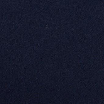 ウール×無地(ネイビー)×フラノ(フランネル) サムネイル1