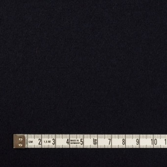 ウール×無地(ダークネイビー)×Wフェイス・フラノ サムネイル4