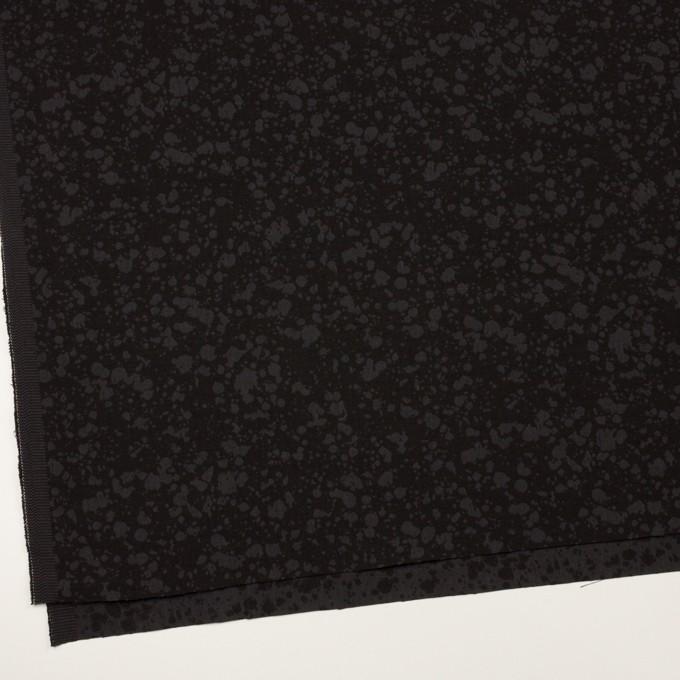 コットン×幾何学模様(チャコールブラック)×二重織ジャガード イメージ2