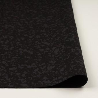 コットン×幾何学模様(チャコールブラック)×二重織ジャガード サムネイル3