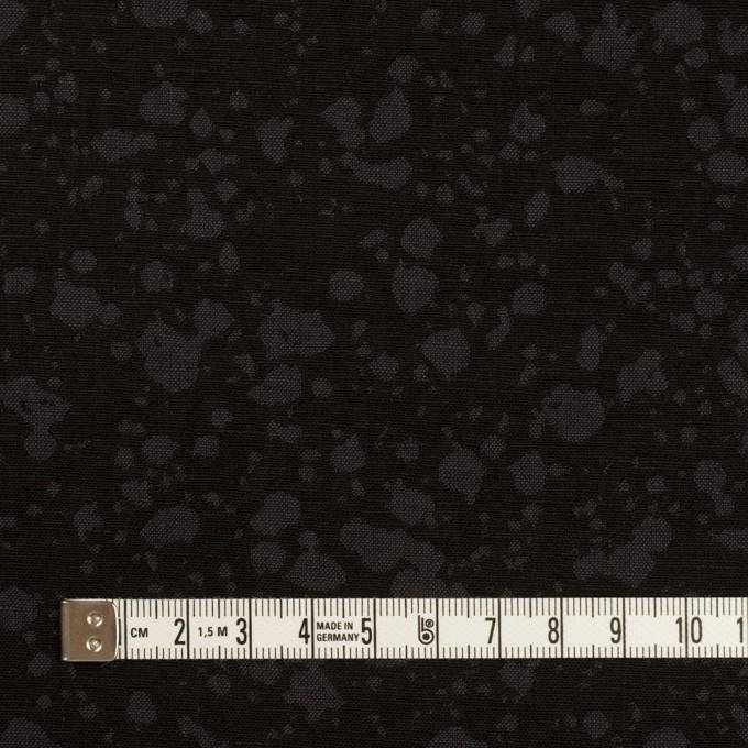 コットン×幾何学模様(チャコールブラック)×二重織ジャガード イメージ4