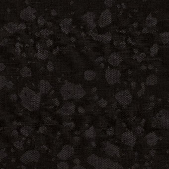 コットン×幾何学模様(チャコールブラック)×二重織ジャガード