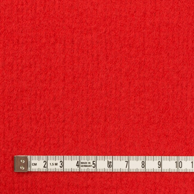 ウール×無地(パッションレッド)×Wフェイス・圧縮ガーゼ イメージ4