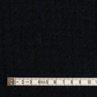 ウール×ミックス(ダークネイビー、マリンブルー&グリーン)×トリプルガーゼ サムネイル4