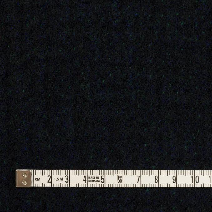 ウール×ミックス(ダークネイビー、マリンブルー&グリーン)×トリプルガーゼ イメージ4