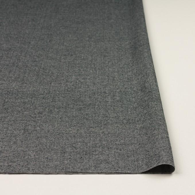 コットン×ミックス(チャコールグレー)×ヘリンボーン_全2色 イメージ3