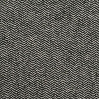 コットン×ミックス(チャコールグレー)×ヘリンボーン_全2色