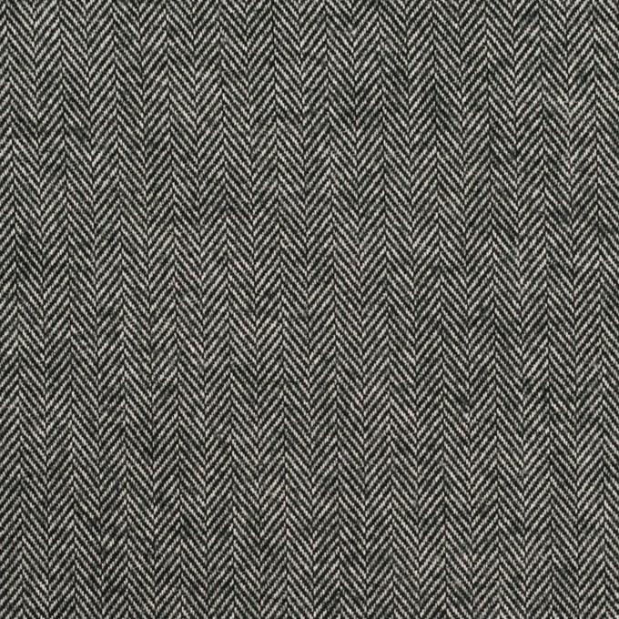 コットン×ミックス(チャコールグレー)×ヘリンボーン_全2色 イメージ1