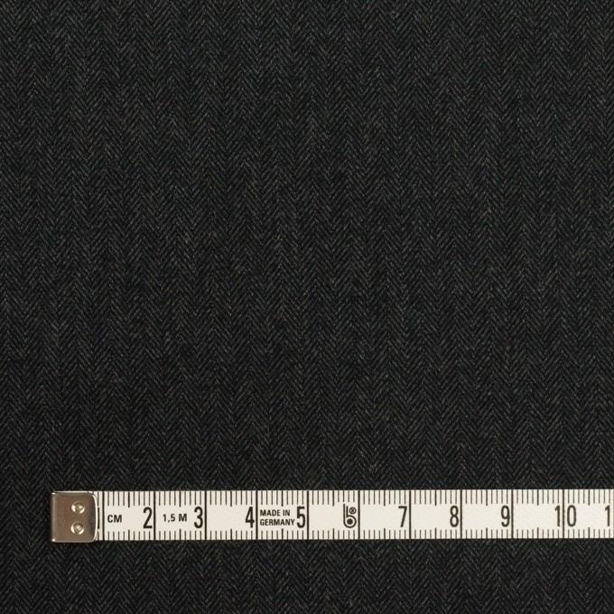 コットン×ミックス(チャコール)×ヘリンボーン_全2色 イメージ4