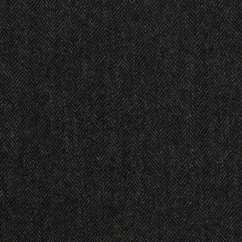 コットン×ミックス(チャコール)×ヘリンボーン_全2色