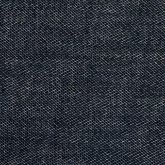 コットン&ポリウレタン×無地(ネイビー)×ベッチンストレッチ_全2色