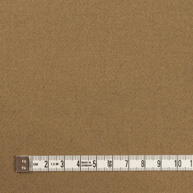 ウール×無地(イエローオーカー)×Wフェイス・カルゼ イメージ4
