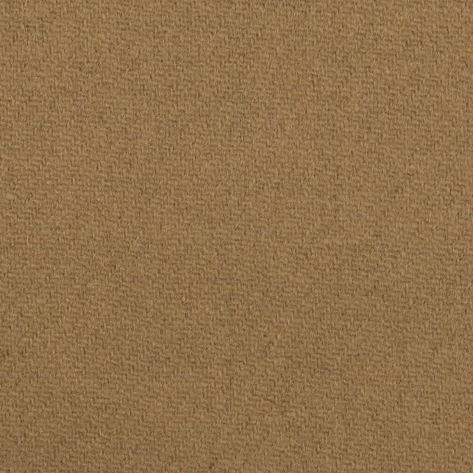 ウール×無地(イエローオーカー)×Wフェイス・カルゼ イメージ1