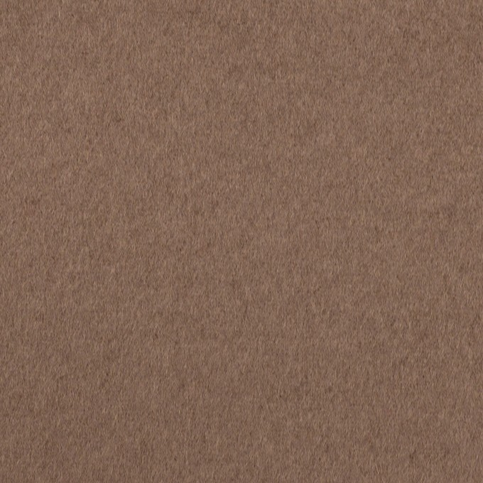 ウール×無地(ミルクココア)×ビーバー イメージ1
