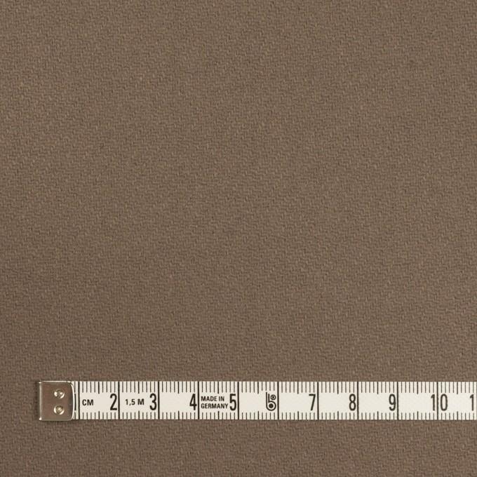 ウール×無地(アッシュカーキ)×Wフェイス・カルゼ イメージ4