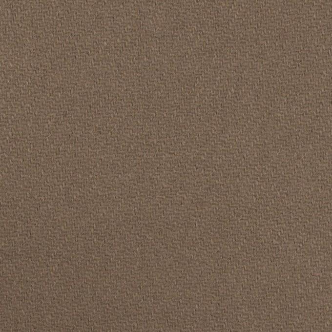 ウール×無地(アッシュカーキ)×Wフェイス・カルゼ イメージ1