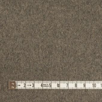 ウール×無地(アッシュグレー)×二重織 サムネイル4