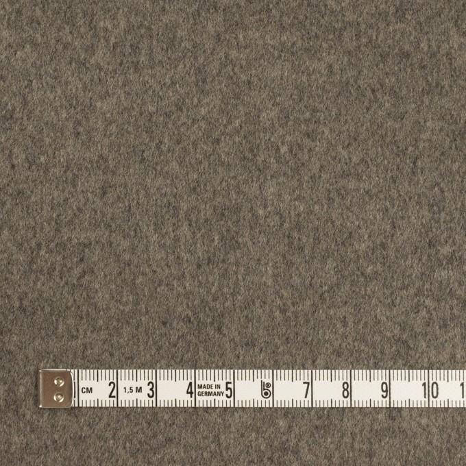 ウール×無地(アッシュグレー)×二重織 イメージ4