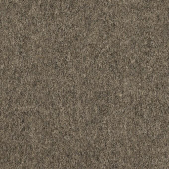 ウール×無地(アッシュグレー)×二重織 イメージ1