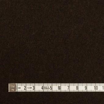 ウール×無地(ブラウニー)×メルトン サムネイル4
