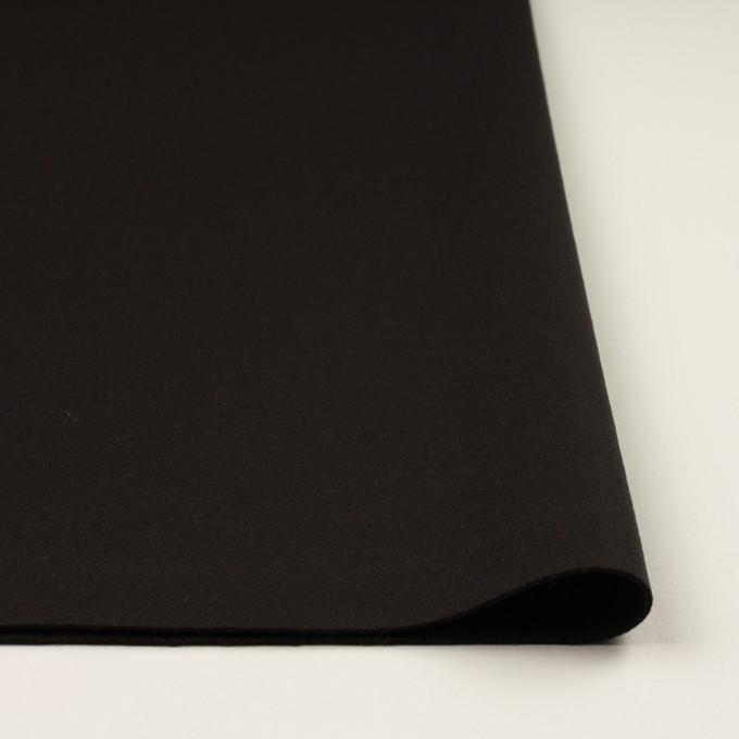 ウール×無地(ビターチョコレート)×Wフェイス・フラノ イメージ3