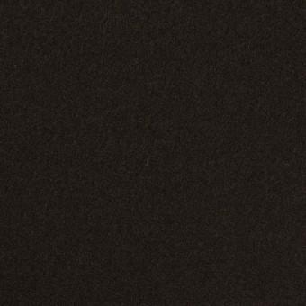 ウール×無地(ビターチョコレート)×Wフェイス・フラノ