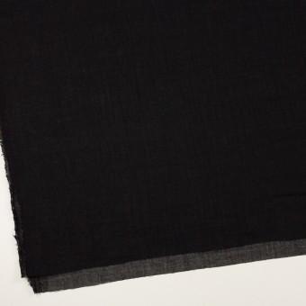 ウール&レーヨン混×無地(ブラック)×ガーゼ サムネイル2