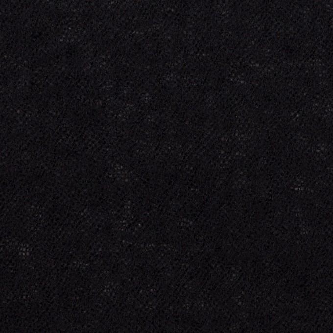 ウール×無地(ダークネイビー)×ガーゼ イメージ1