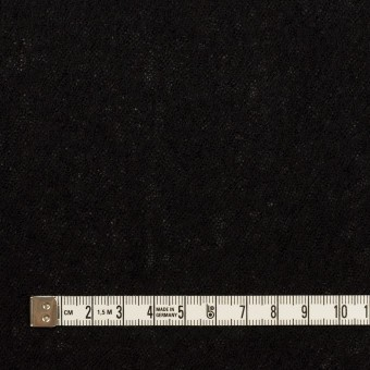 ウール×無地(ブラック)×ガーゼ サムネイル4