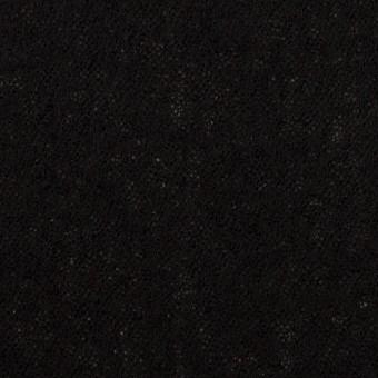 ウール×無地(ブラック)×ガーゼ