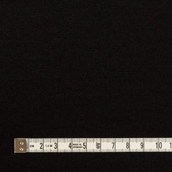 ウール×無地(ブラック)×天竺ニット サムネイル4