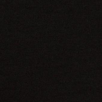 ウール×無地(ブラック)×天竺ニット