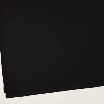 ウール×無地(ブラック)×圧縮ニット サムネイル2