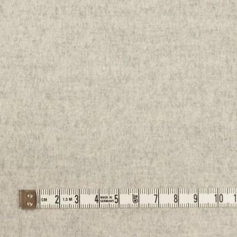 ウール&カシミア×無地(オイスター)×フラノ(フランネル) サムネイル4