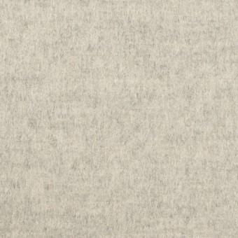 ウール&カシミア×無地(オイスター)×フラノ(フランネル)