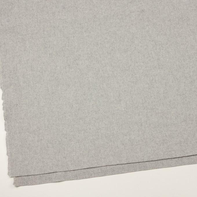 ウール&ナイロン×無地(グレー)×フラノ(フランネル) イメージ2