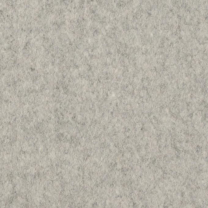 ウール&ナイロン×無地(グレー)×フラノ(フランネル) イメージ1