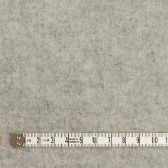 ウール&アクリル混×無地(グレー)×Wフェイス・フラノ サムネイル4