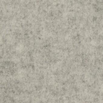 ウール&アクリル混×無地(グレー)×Wフェイス・フラノ