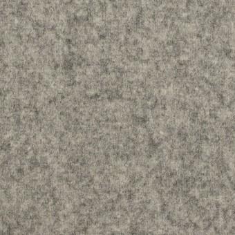 ウール×無地(グレー)×二重織