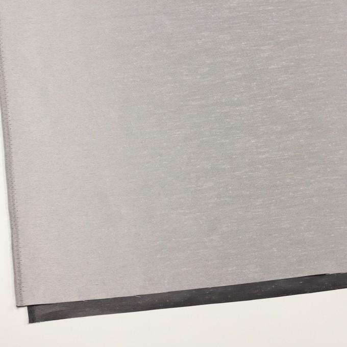 ポリエステル×無地(シルバー)×バックサテン・シャンブレー・シャンタン イメージ2