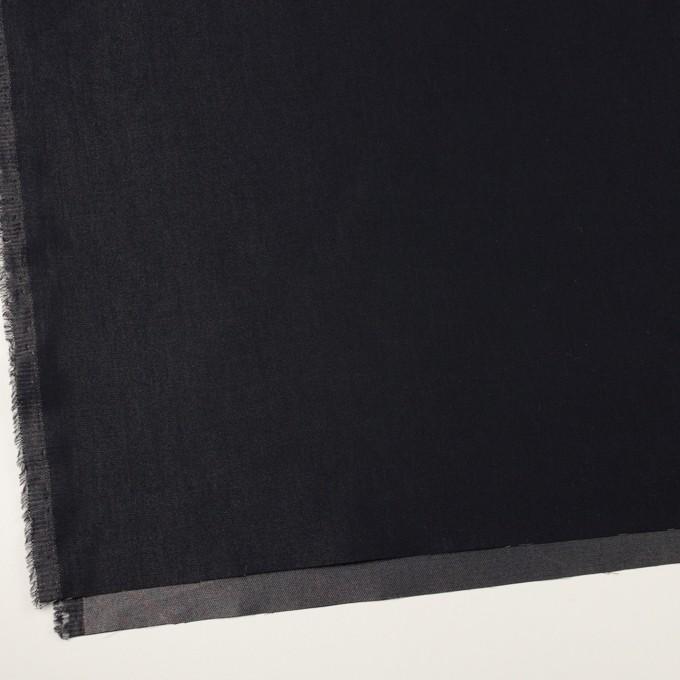 コットン&ポリエステル×無地(アイアンネイビー)×かわり織 イメージ2