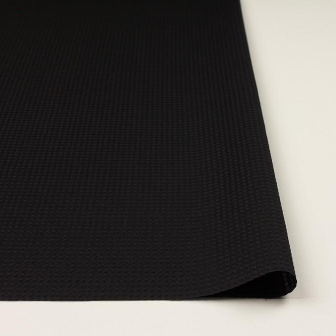 シルク×チェック(ブラック)×ジャガード イメージ3