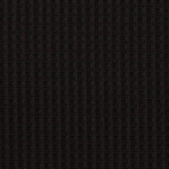 シルク×チェック(ブラック)×ジャガード
