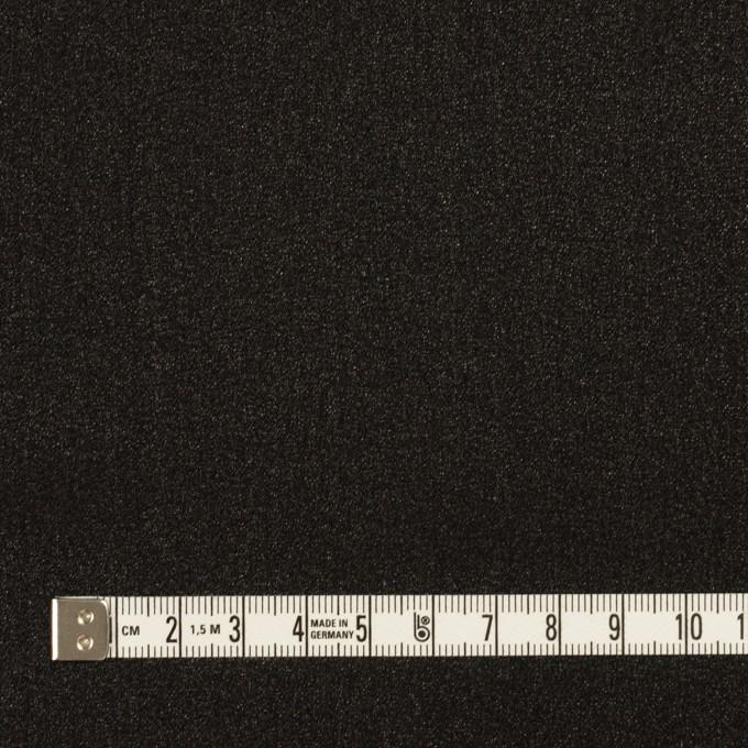 シルク×無地(ブラック)×ジョーゼット_イタリア製 イメージ4