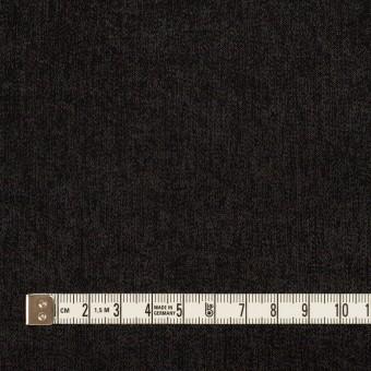 コットン&ポリエステル×無地(ブラック)×かわり織 サムネイル4