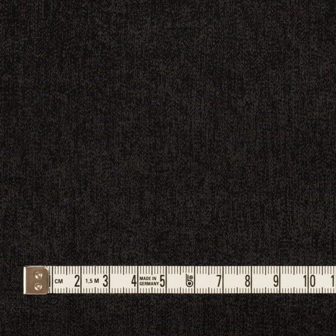 コットン&ポリエステル×無地(ブラック)×かわり織 イメージ4