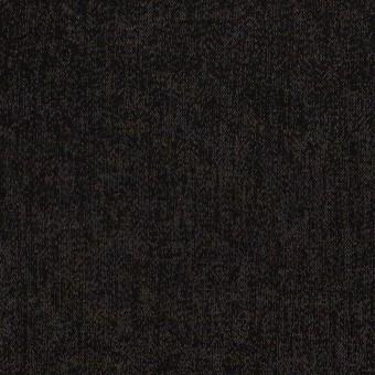 コットン&ポリエステル×無地(ブラック)×かわり織 サムネイル1