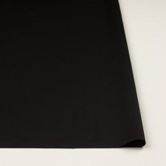 レーヨン&ウール×無地(ブラック)×サテン サムネイル3