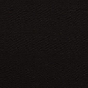 レーヨン&ウール×無地(ブラック)×サテン サムネイル1